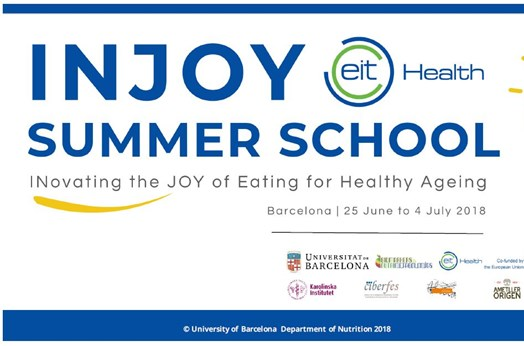 INJOY SUMMER SCHOOL – INovating the JOY of Eating for Healthy Ageing